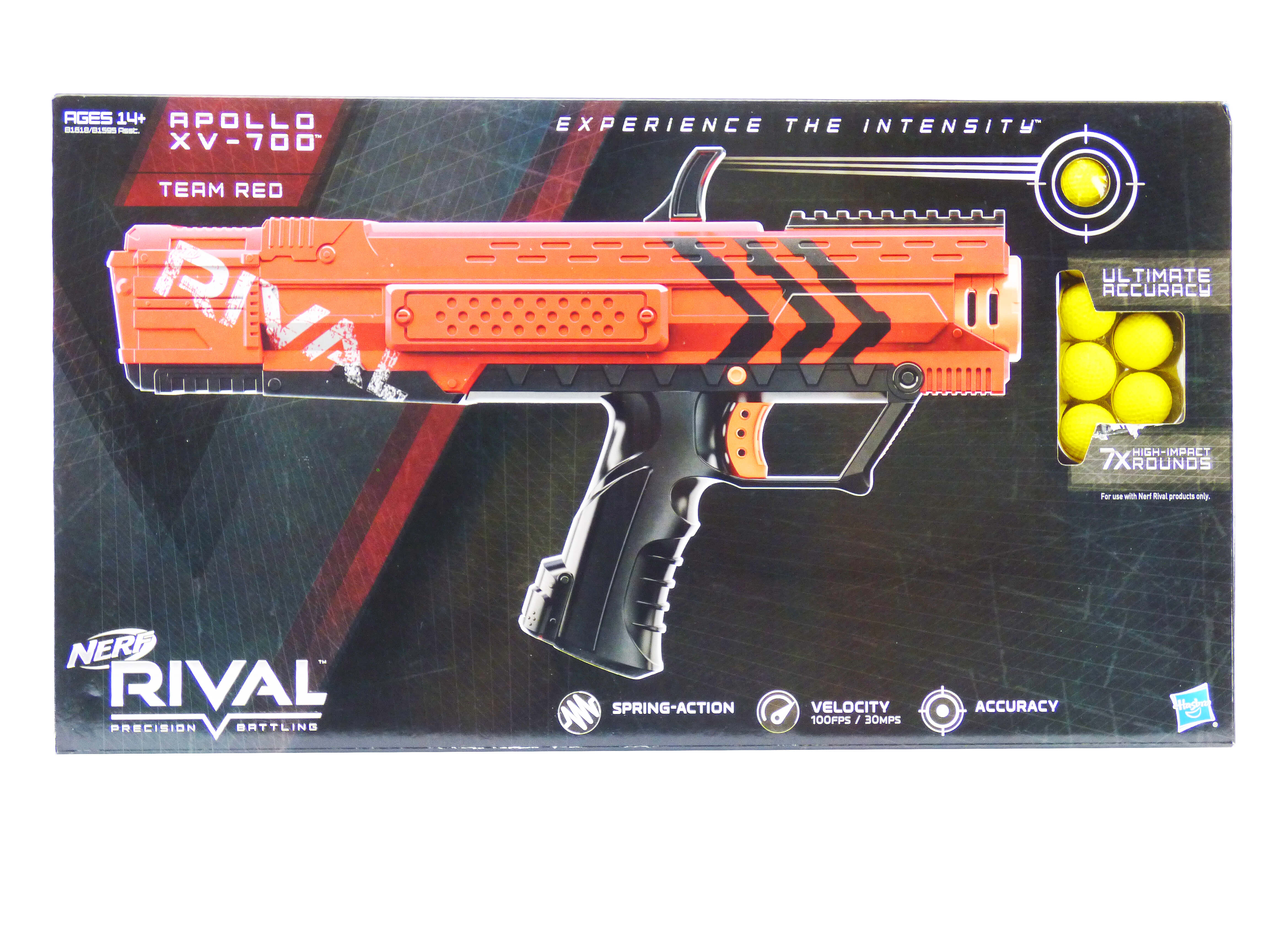Blue Nerf pollo XV 700 Blaster Red
