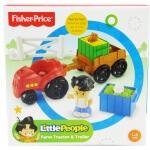 Farm Tractor & Trailer Play Set