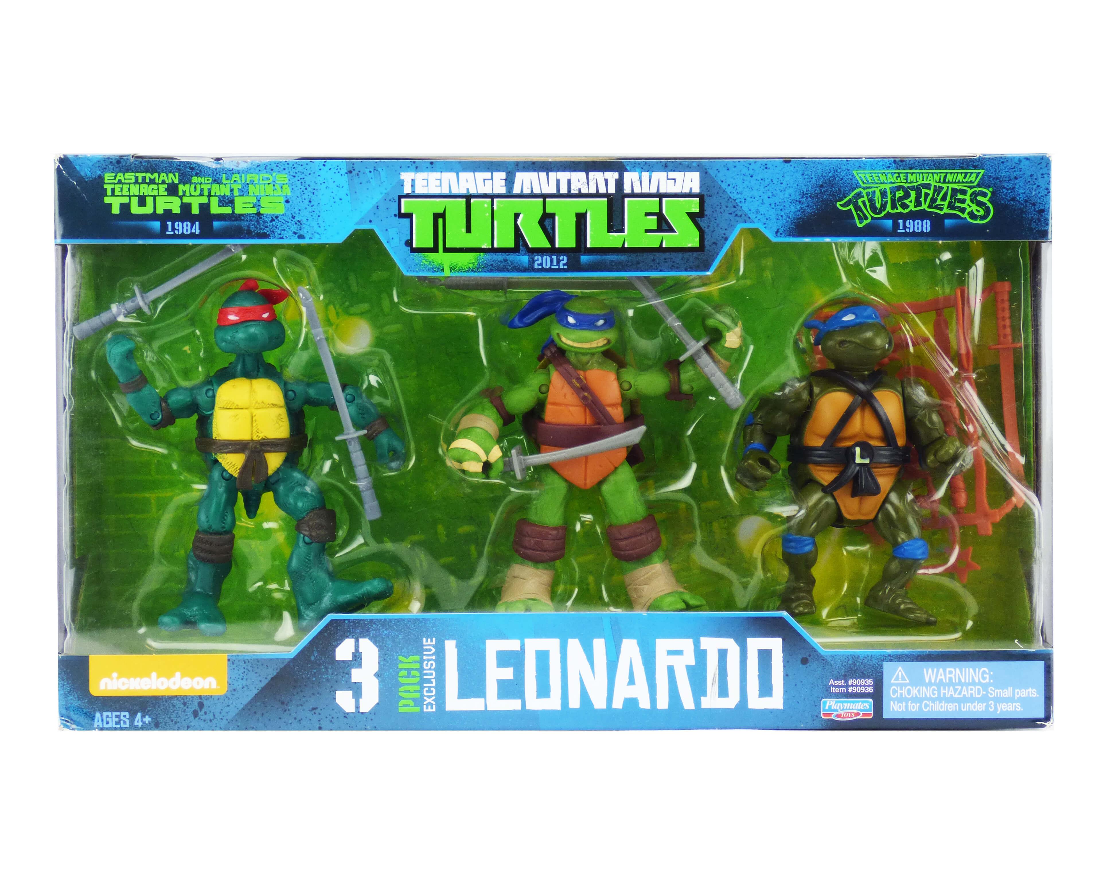 Teenage Mutant Ninja Turtles Leonardo Crate Toy Crate